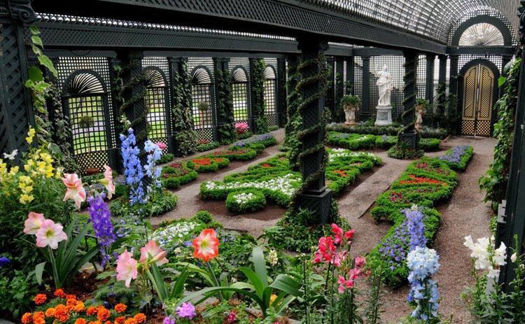 ...иностранных растений, которые без дополнительной теплоты, здешнюю зимнюю стужу перенести не могут.