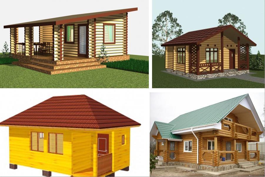Односкатные крыши проекты