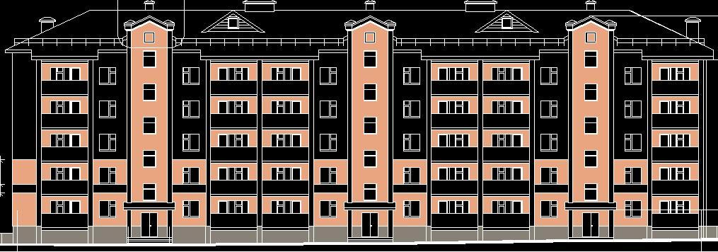 Проект пятиэтажного дома