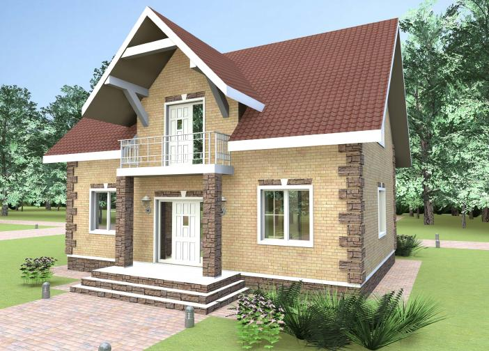 Foam blocks houses for free