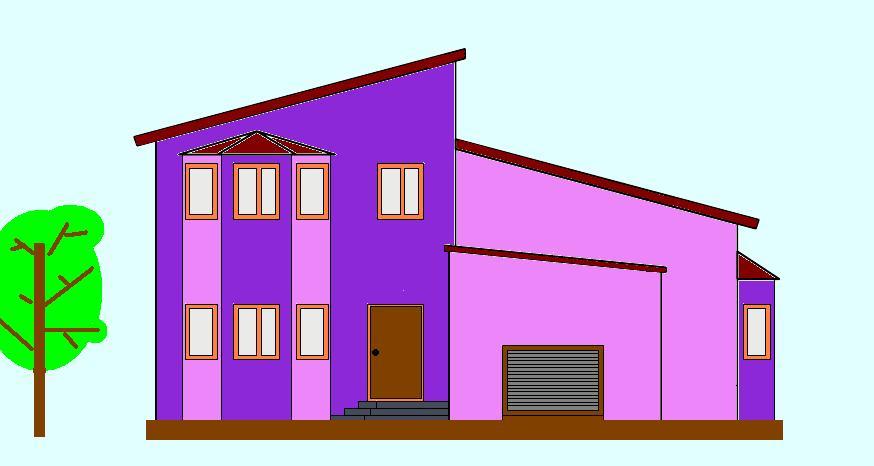 Строительный проект дома