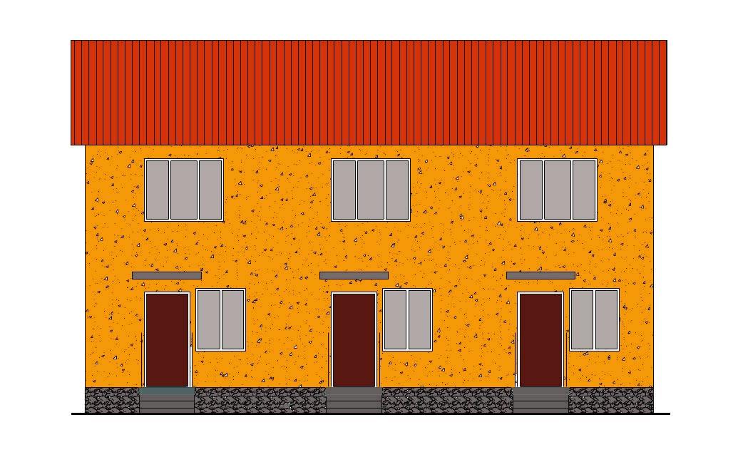 Трехквартирный дом