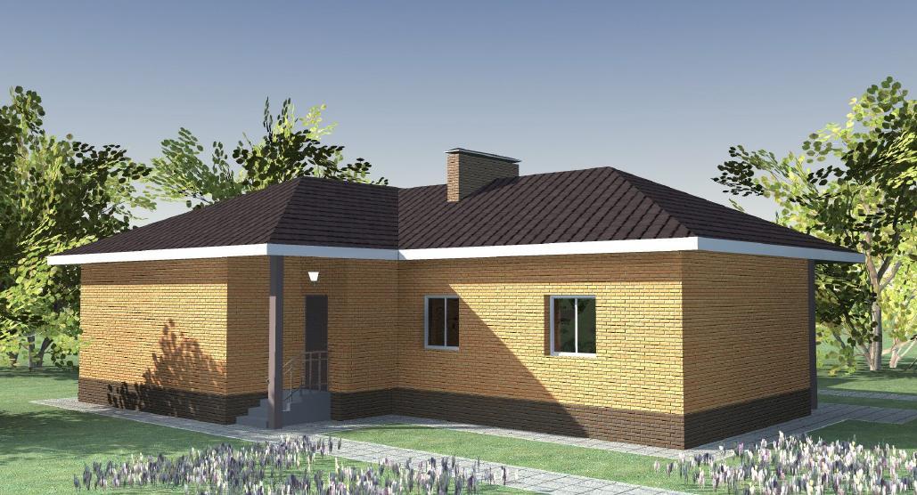 Трехквартирный жилой дом