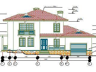 Современный дом-коттедж
