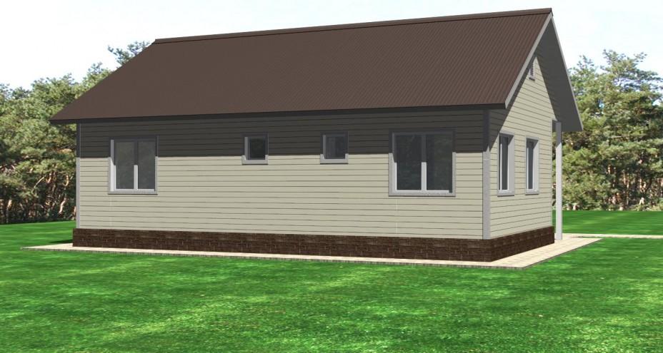 Проект щитового дома