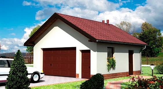 проект щитового гаража